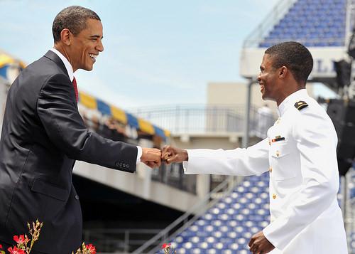 In Navy...